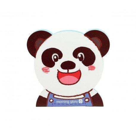 Carnet kawaii panda souriant
