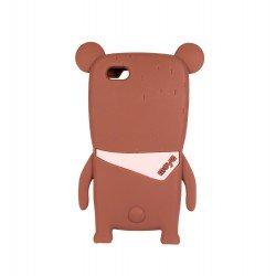 Coque étui téléphone en silicone souple pour iphone 5- 5s-5C ours kawaii 3D