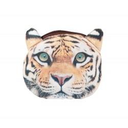 Pochette porte monnaie kawaii tigre