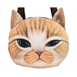 Grand sac porté épaule kawaii chat gentleman