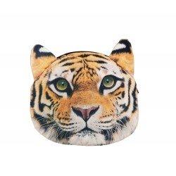 Sac pochette à chaîne kawaii bouille de tigre