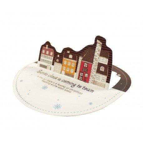 Kit de cartes de voeux très mignonnes pour Noël en 3D