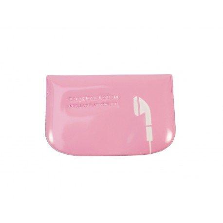Etui housse pour écouteur design couleur rose