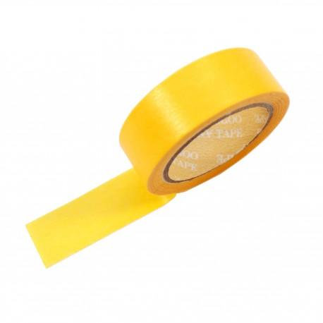 Masking tape couleur jaune melon