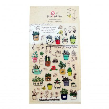 Sticker - Jolies plantes du jardin