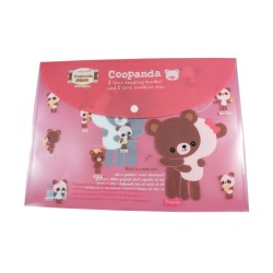 Pochette documents A4 kawaii Coopanda et Ourson Calin