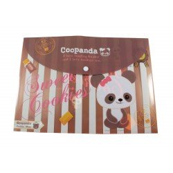 Pochette documents A4 kawaii Coopanda kawaii