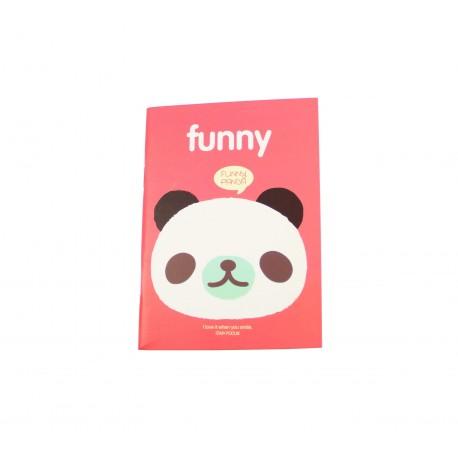 Carnet kawaii panda mignon