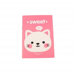 Carnet kawaii chat mignon