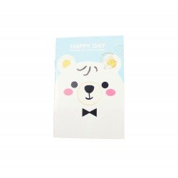 Carnet kawaii Monsieur Ours
