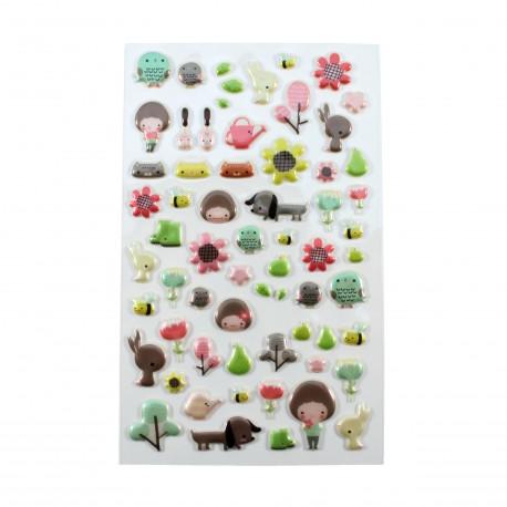 Sticker - Petit jardin