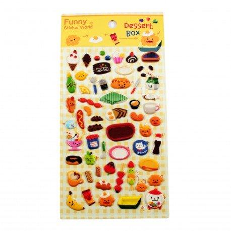 Sticker - Dessert box