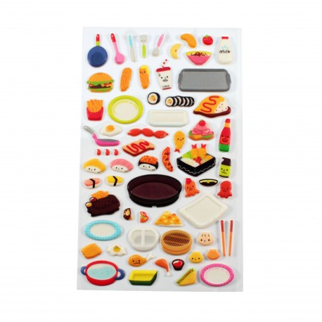 Sticker - Lunch box japonais
