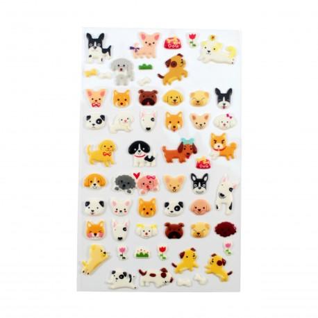 Sticker - Petits chiots