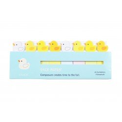 Mini notes marques pages repositionnables kawaii Animaux Canard