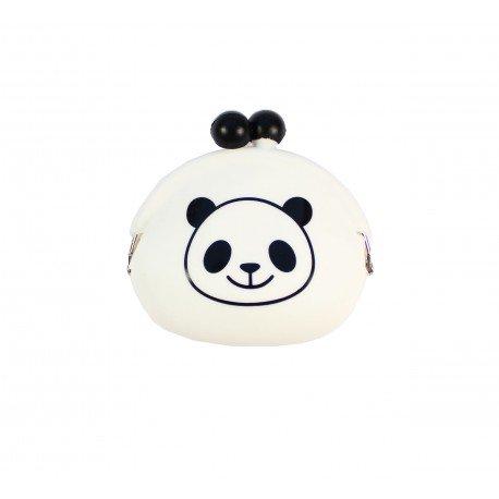 Porte monnaie kawaii fermoir Clip Panda