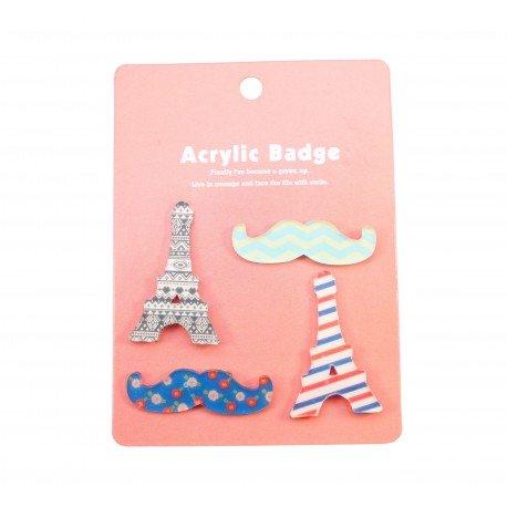 Badge kawaii Paris 2