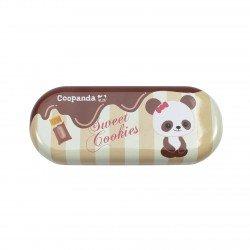 Boîte de lunettes kawaii Coo Panda chocolat