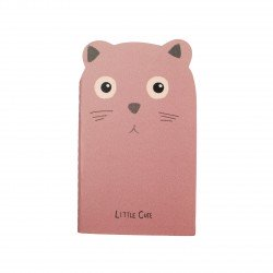Carnet kawaii - Animal mignon brun