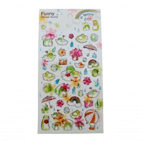Sticker - A rainy day