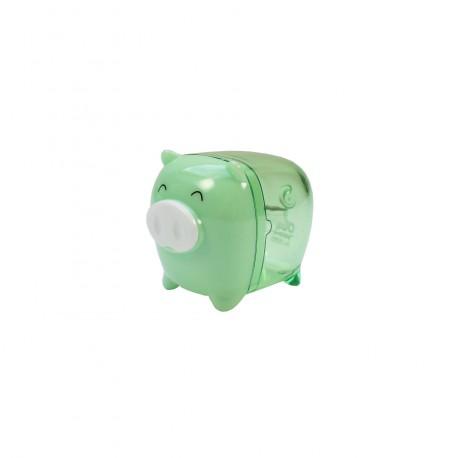 Taille crayon kawaii - Petit cochon vert