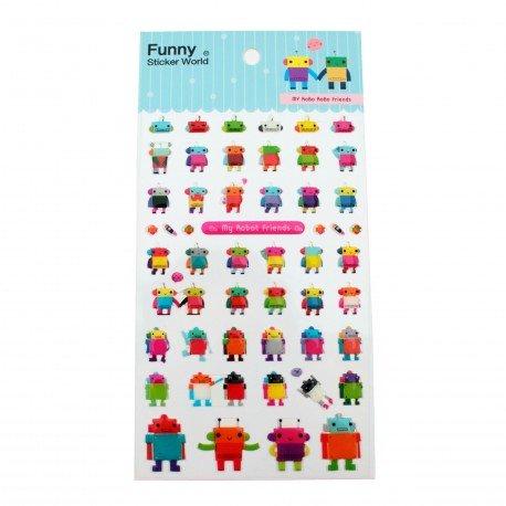 Sticker - My robot friends