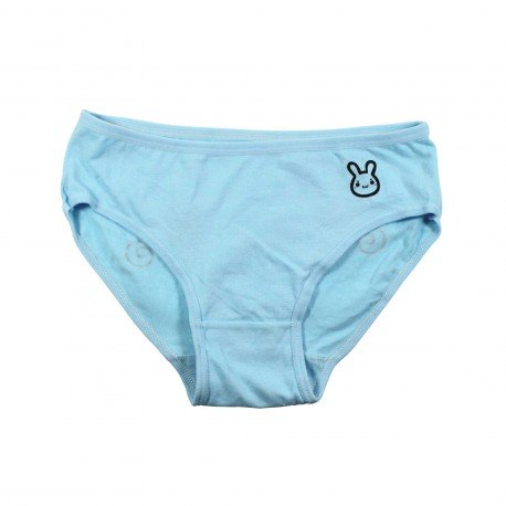 Petite culotte emoji kawaii bleu II
