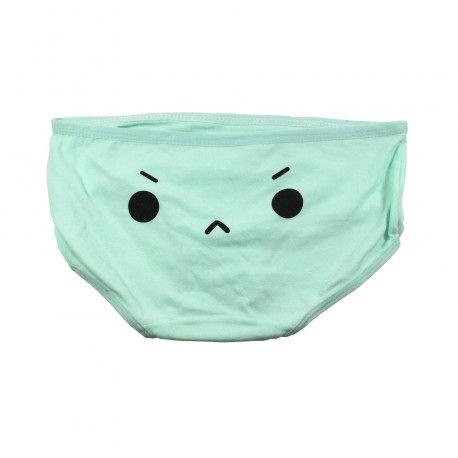 Petite culotte emoji kawaii vert II