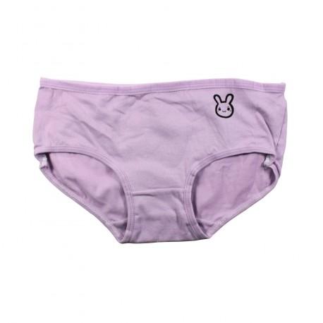 Petite culotte emoji kawaii mauve