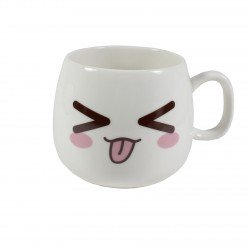 Tasse emoji kawaii 10 - tire la langue