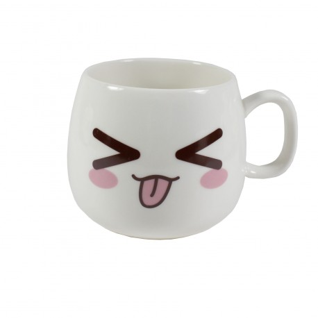 Tasse emoji kawaii 10 - tire la langue