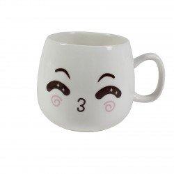 Tasse emoji kawaii 13 - bisous