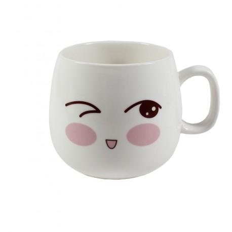 Tasse emoji kawaii 15 - Clin d'oeil