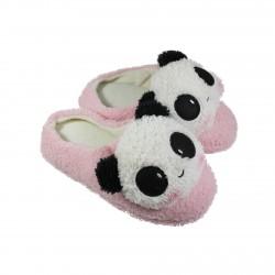 Chausson pantoufle kawaii Panda rose