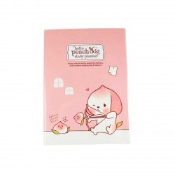 Agenda planner planificateur sans date kawaii Peach Dog 2