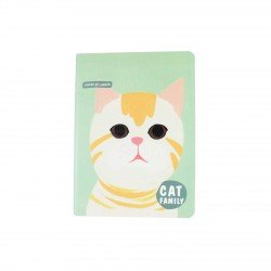 Carnet kawaii - Cat family chaton