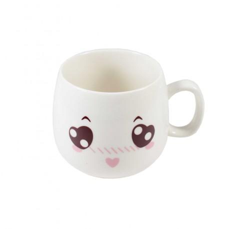 Tasse emoji kawaii 18 - Coeur