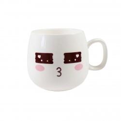 Tasse emoji kawaii 21 - Amoureux