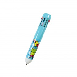 Stylo bille 10 couleurs kawaii Always Smile Grenouille et lapin