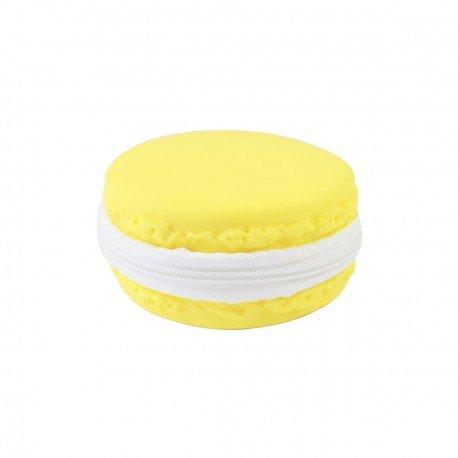 Porte monnaie douceur Macaron Citron