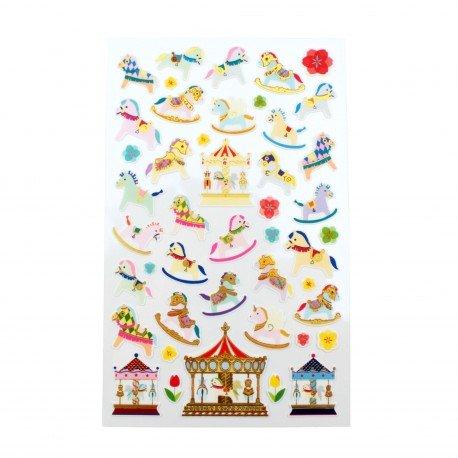 Sticker - Merry go round