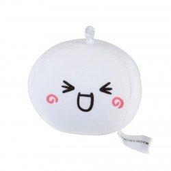 Strap boule mochi anti-stresse kawaii emoji 1 - joyeux