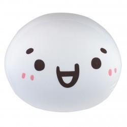 Coussin boule mochi anti-stresse kawaii emoji 2-L