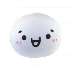 Coussin boule mochi anti-stresse kawaii emoji 2-M