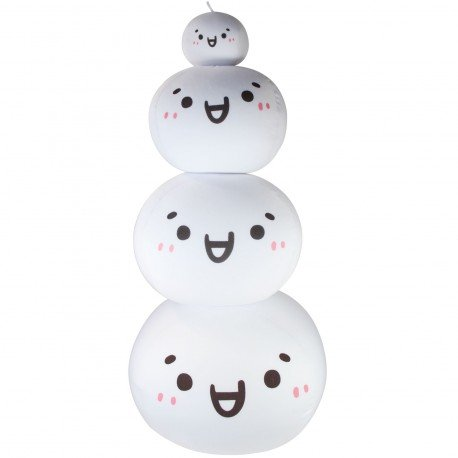 Coussin boule mochi anti-stresse kawaii emoji 2-S