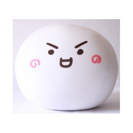 Coussin boule mochi anti-stresse kawaii emoji 3-M