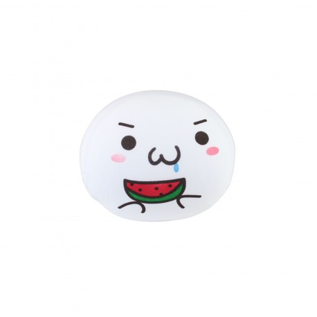 Coussin boule mochi anti-stresse kawaii emoji 6-S