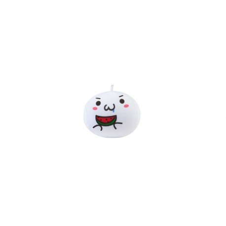Strap boule mochi anti-stresse kawaii emoji 6 - pastèque