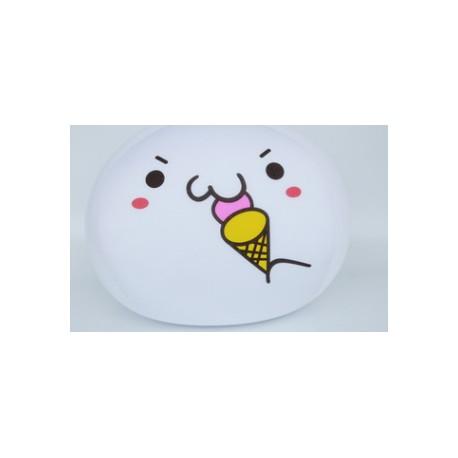 Coussin boule mochi anti-stresse kawaii emoji 8-S