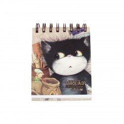 Carnet planner planificateur 100 jours kawaii chat et elfe